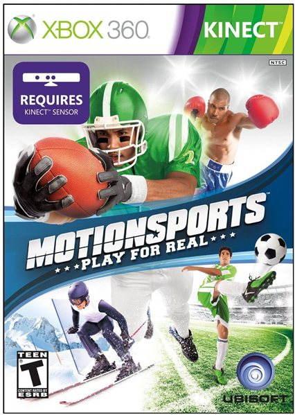 Hra pro konzoli MotionSports (Kinect ready) - Xbox 360