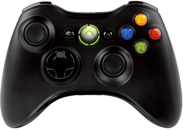 Gamepad Microsoft XBOX 360 Wireless Controller Black New