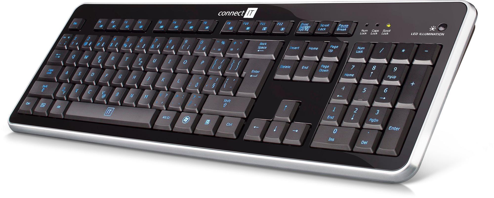 Klávesnice CONNECT IT Premium CI-45