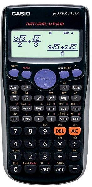 Kalkulačka CASIO FX 82ES PLUS