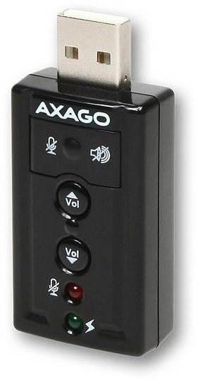 Externí zvuková karta AXAGO ADA-20