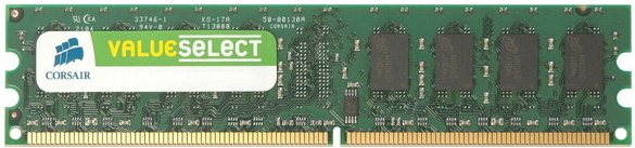 Operační paměť Corsair 1GB DDR2 667MHz CL5