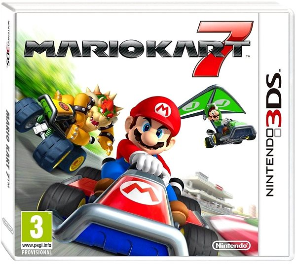 Hra pro konzoli Mario Kart 7 - Nintendo 3DS