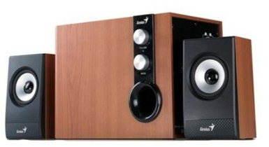 Reproduktory Genius SW-HF 2.1 1205 barva dřeva