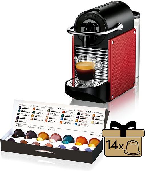 Kávovar na kapsle NESPRESSO DéLonghi Pixie EN125.R