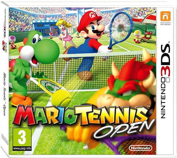 Hra pro konzoli 3D Mario Tennis Open - Nintendo 3DS
