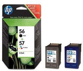Cartridge HP SA342AE č. 56 a č. 57