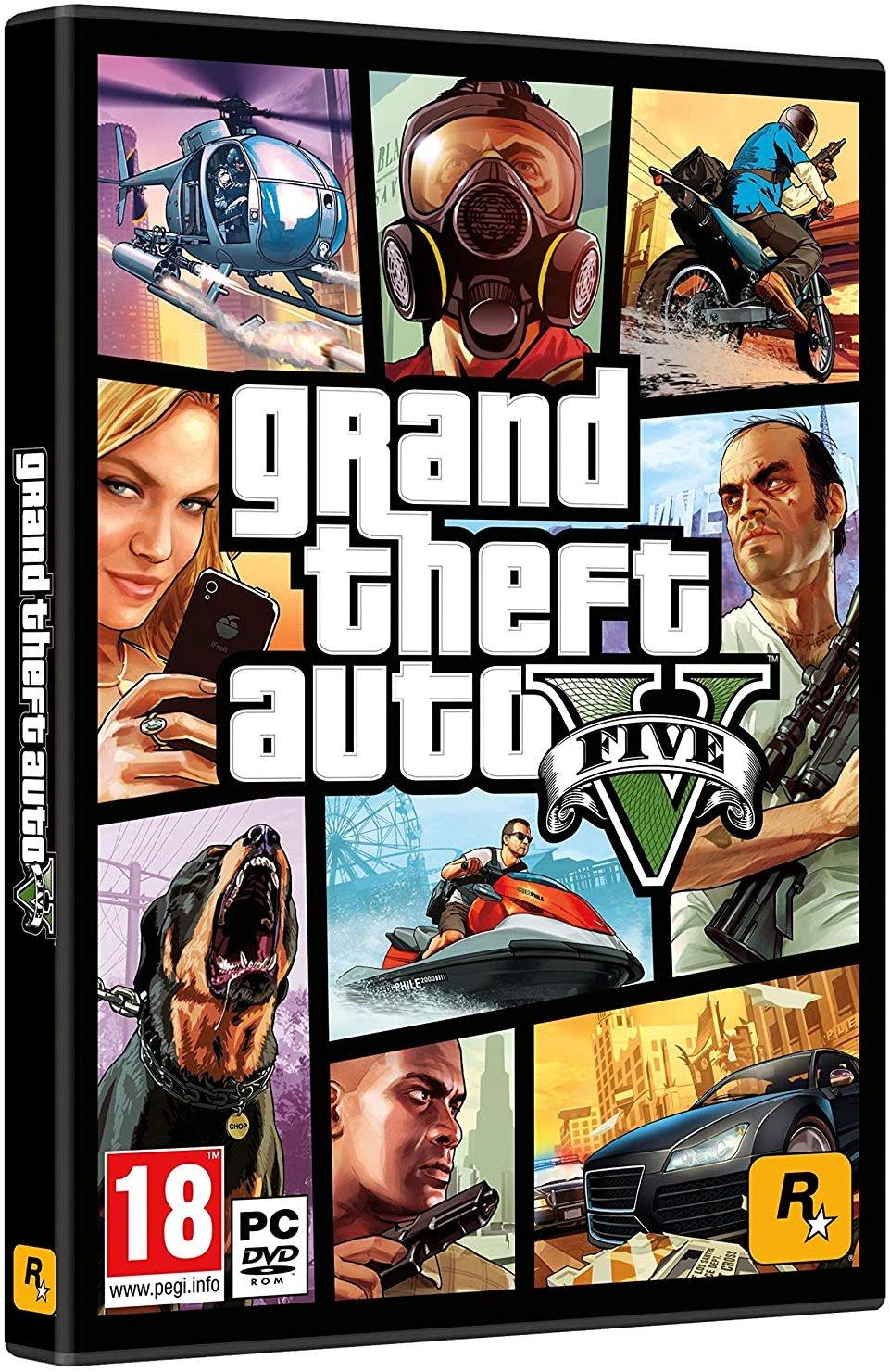 Hra pro PC Grand Theft Auto V (GTA 5)