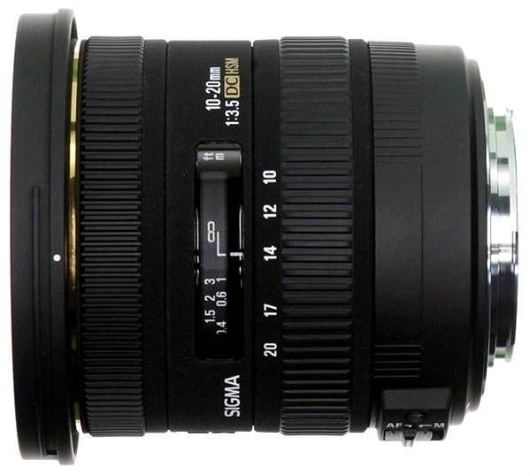 Objektiv SIGMA 10-20mm F3.5 AF EXDC HSM F pro Canon