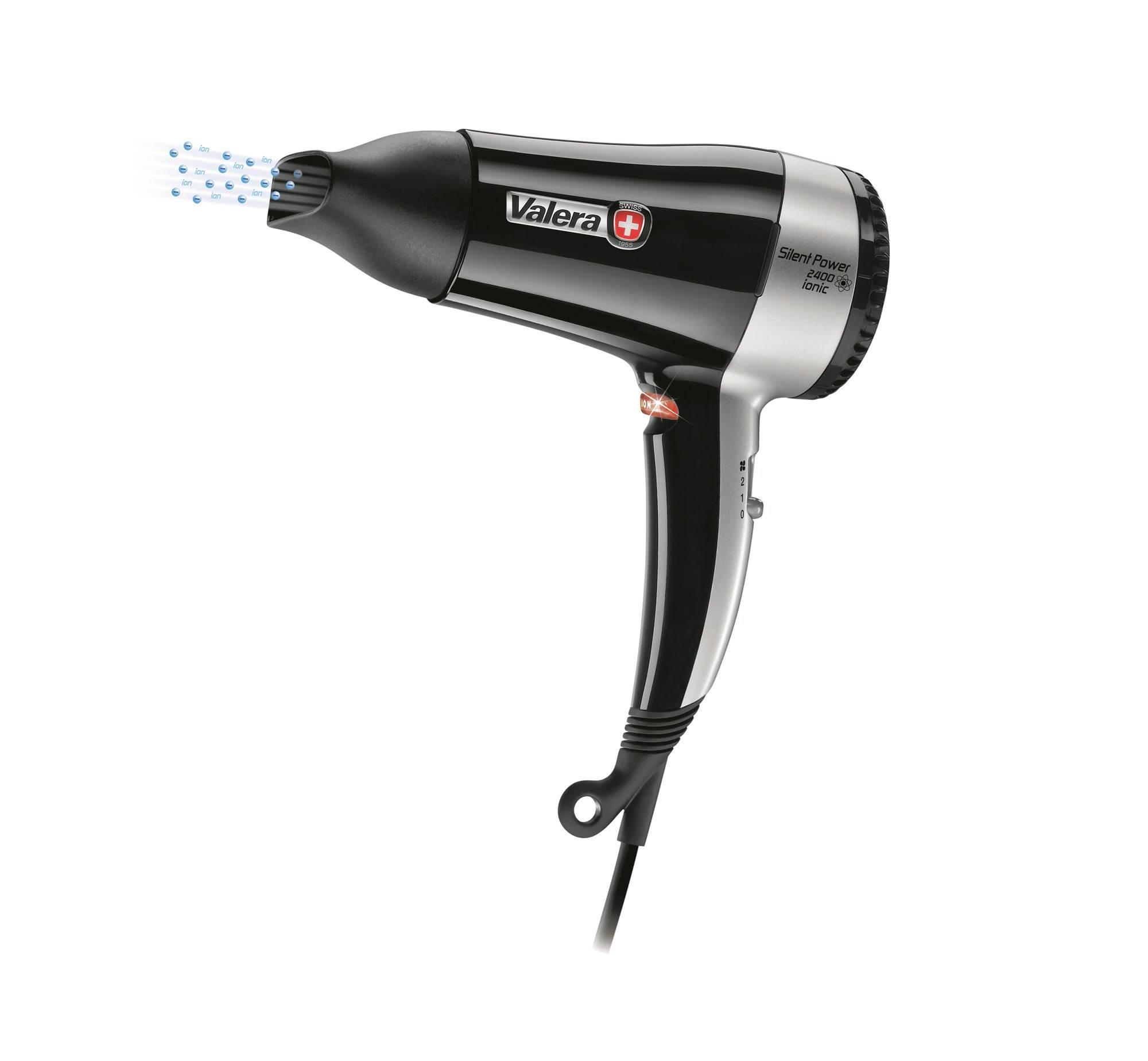 Fén na vlasy VALERA Silent power 2400 IONIC