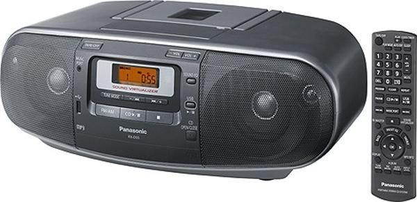 Radiomagnetofon Panasonic RX-D55AEG-K