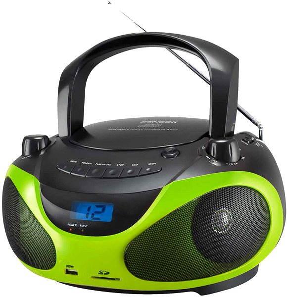Radiomagnetofon Sencor SPT 228 BG zelená