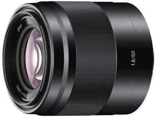 Objektiv Sony 50mm F1.8 černý