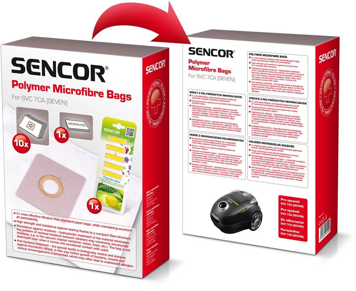 Sáčky do vysavače Sencor SVC 7