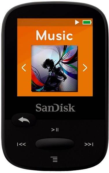 MP3 přehrávač SanDisk Sansa Clip Sports 8GB černý