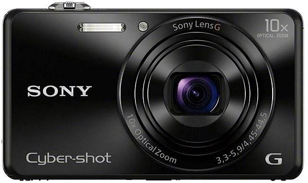 Digitální fotoaparát Sony CyberShot DSC-WX220 černý