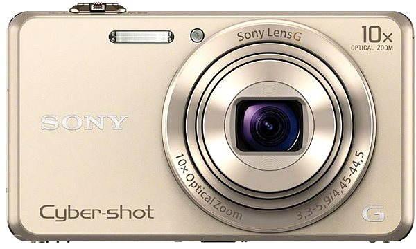 Digitální fotoaparát Sony CyberShot DSC-WX220 champagne