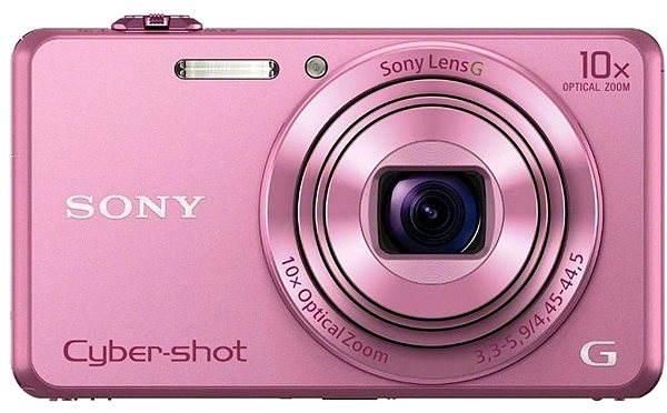 Digitální fotoaparát Sony CyberShot DSC-WX220 růžový