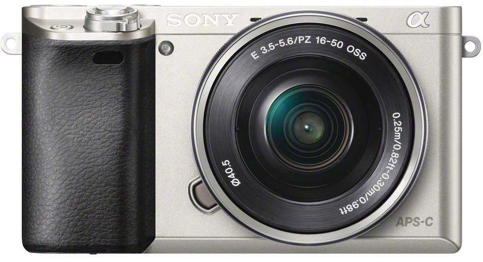 Digitální fotoaparát Sony Alpha 6000 stříbrný + objektiv 16-50mm