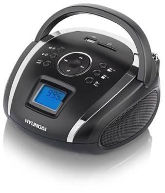 Rádio Hyundai TR 1088 SU3BS černo-stříbrná