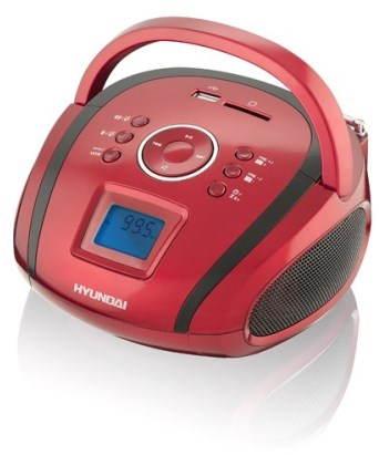 Rádio Hyundai TR 1088 SU3RB červeno-černá