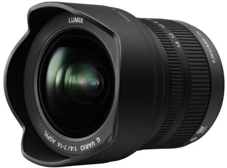 Objektiv Panasonic Lumix G Vario 7-14mm F4.0