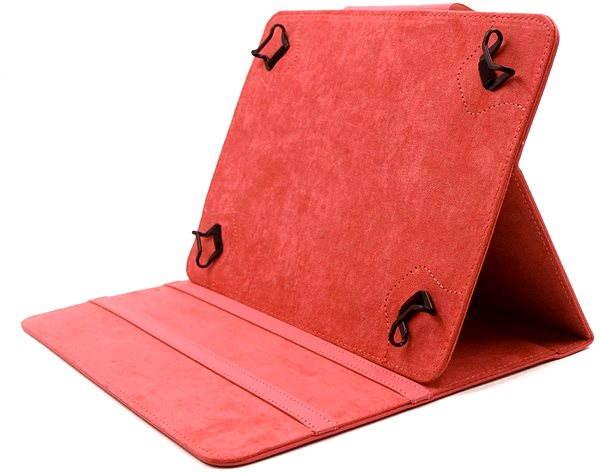 Pouzdro na tablet C-TECH PROTECT NUTC-04 červené