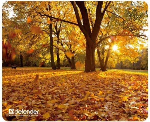 Podložka pod myš Defender Silk Pad Autumn