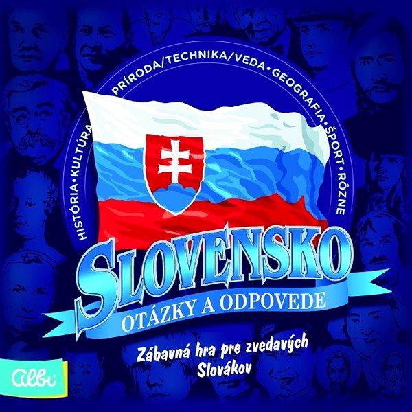 Vědomostní hra Slovensko - Otázky a odpovědi