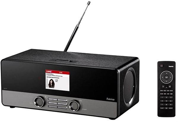 Rádio Hama DIR3100M DAB+ internetové rádio