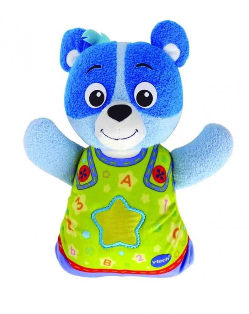 Plyšová hračka Vtech Usínáček Medvídek modrý