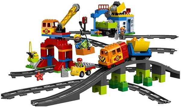 Stavebnice LEGO DUPLO 10508 Vláček deluxe
