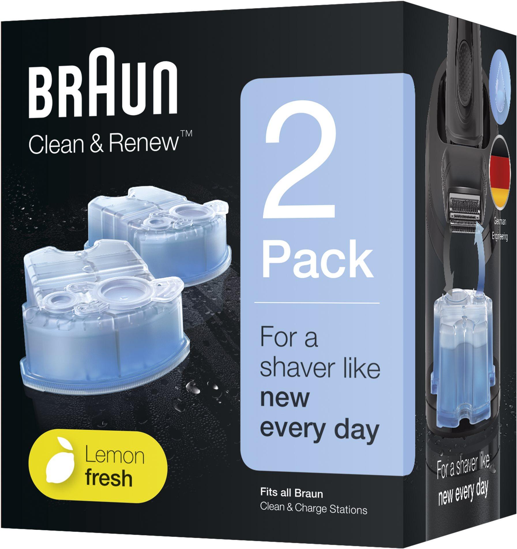 Čisticí náplň BRAUN Clean&Charge - Náhradní náplň CCR2