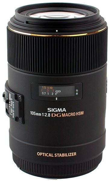 Objektiv SIGMA 105mm F2.8 MAKRO EX DG OS HSM pro Canon