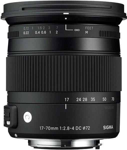 Objektiv SIGMA 17-70mm F2.8-4 DC MACRO OS HSM pro Canon (řada Contemporary)