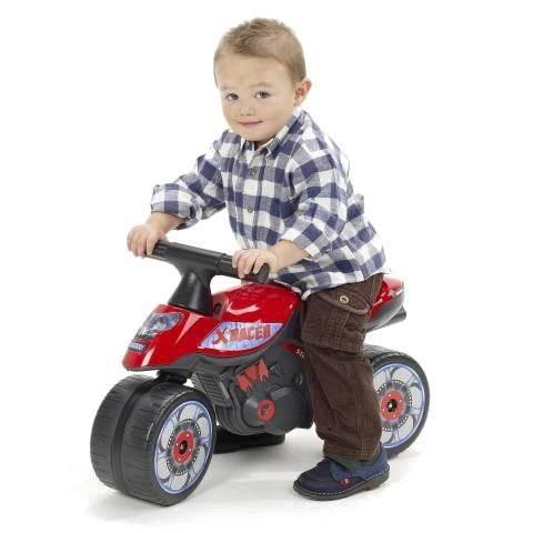 Dětské odrážedlo Motorka červená