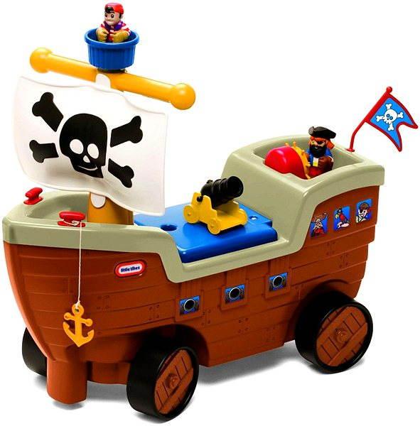Dětské odrážedlo Little Tikes Odrážedlo - Pirátská loď
