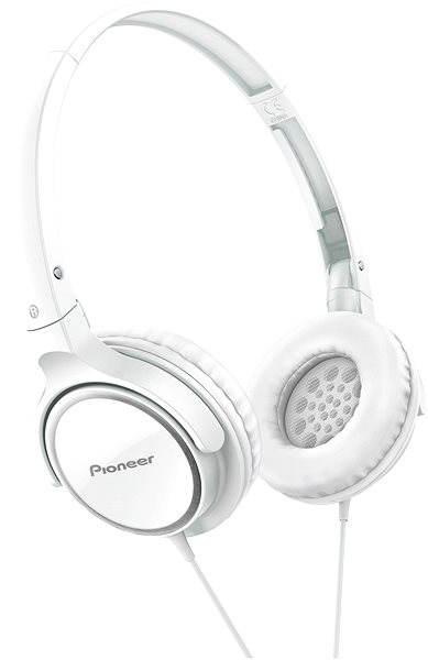 Sluchátka Pioneer SE-MJ512-W bílá