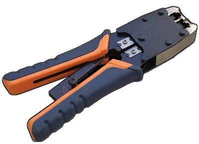 Kleště L-PROFI, krimpovací, pro konektory RJ11, RJ12, RJ45