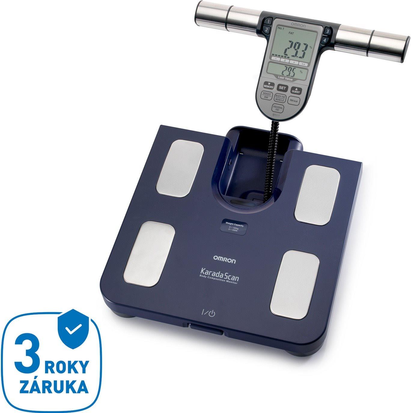 Osobní váha OMRON Monitor skladby lidského těla s lékařskou váhou BF511-B