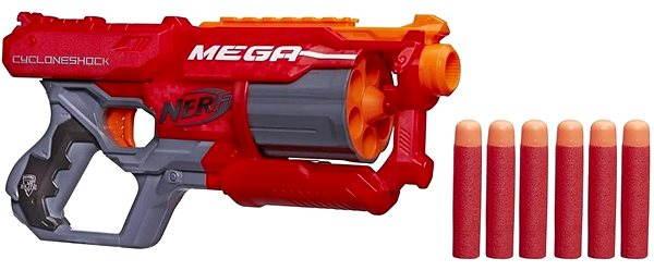 Dětská pistole Nerf Mega - S rotačním zásobníkem