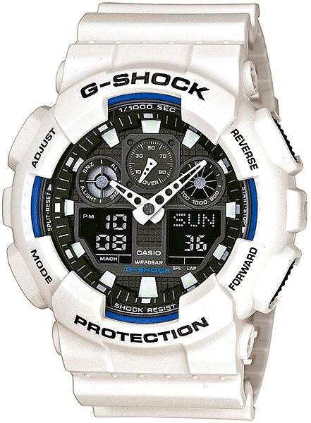 Pánské hodinky CASIO G-SHOCK GA 100B-7A