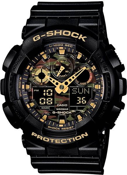 Pánské hodinky CASIO G-SHOCK GA 100CF-1A9