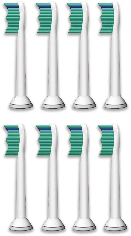 Náhradní nástavec pro zubní kartáčky Philips Sonicare HX6018/07 ProResults standardní hlavice, 8 ks v balení