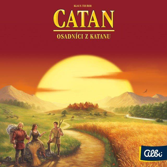 Společenská hra Catan - Osadníci z Katanu