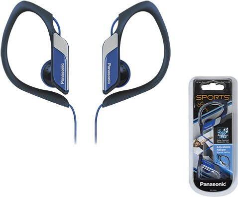 Sluchátka Panasonic RP-HS34E-A modrá