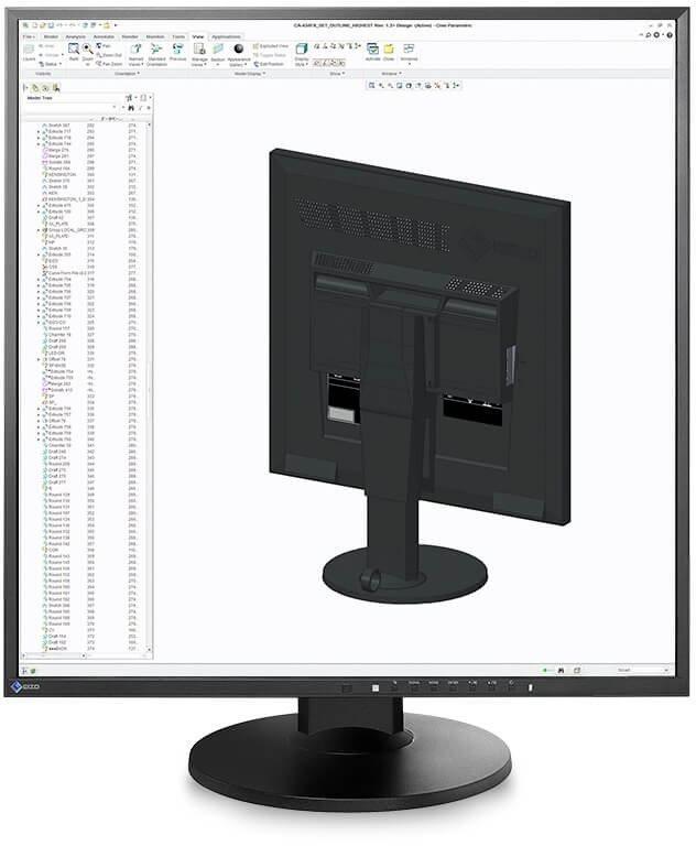 "LED monitor 26.5"" EIZO FlexScan EV2730Q-BK"