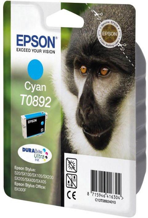 Cartridge Epson T0892 azurová