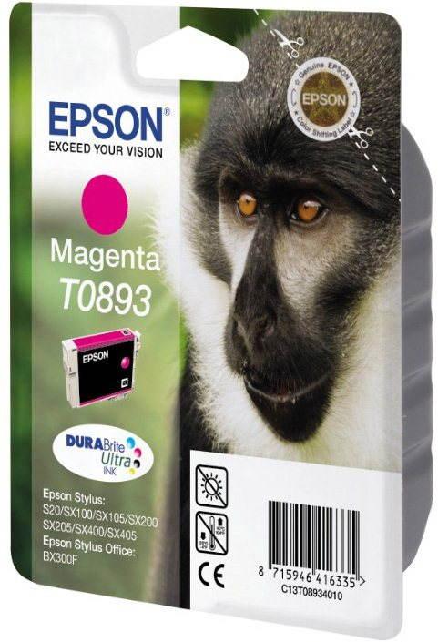 Cartridge Epson T0893 purpurová