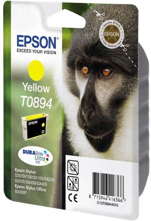 Cartridge Epson T0894 žlutá